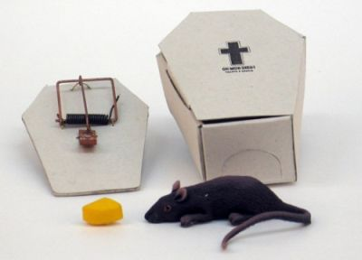 mouse trap coffin