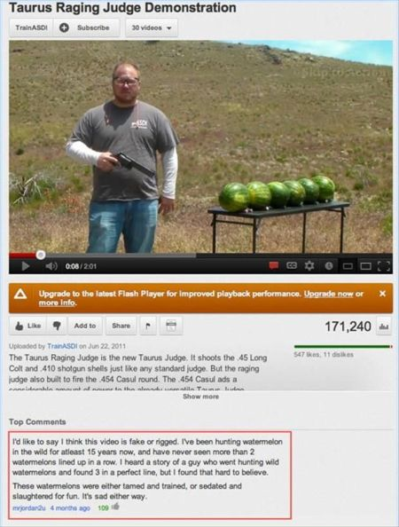 watermelon youtube funny comment