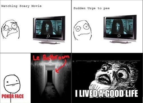 I lived a good life scary meme