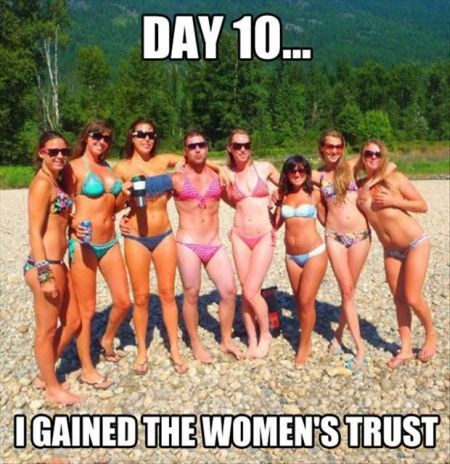 day 10 I gained the women's trust