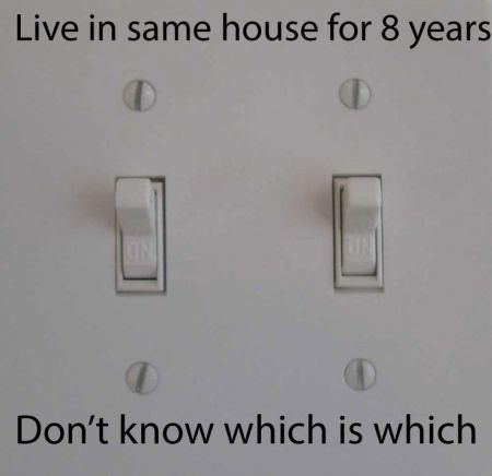 don't know which switch is which