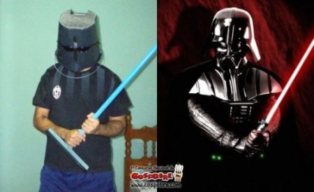 Nailed that – Darth Vador