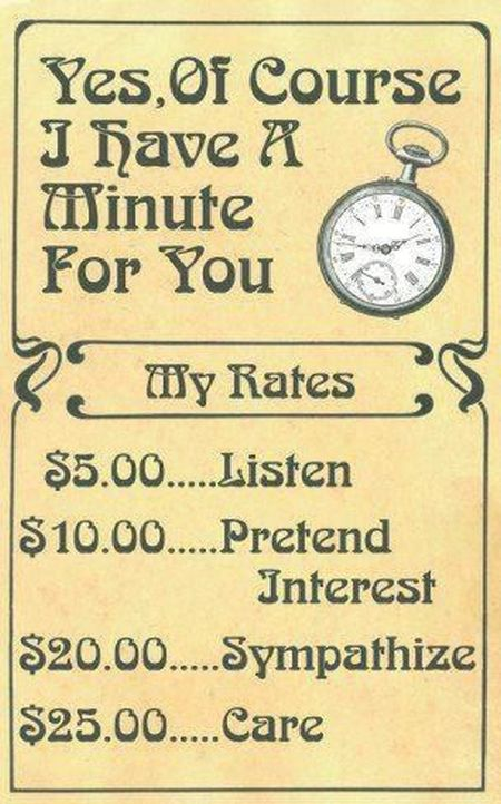 yes of course I have a minute for you