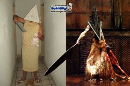 Nailed it – pyramid head