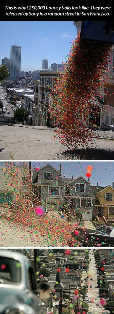 bouncy balls in san Francisco
