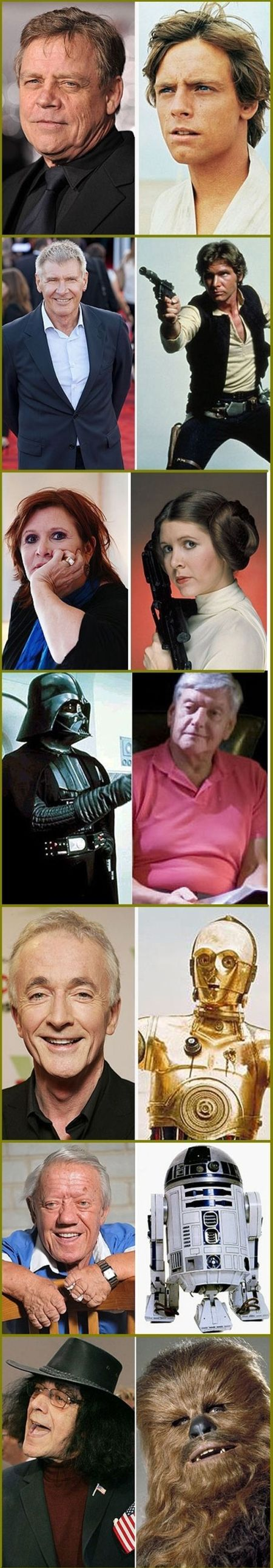 star wars actors 35 years after