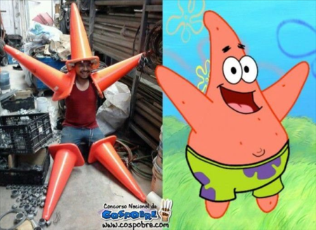 Nailed that – Patrick the starfish