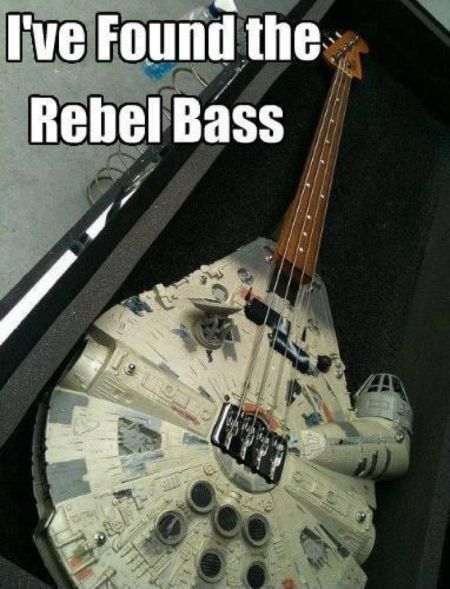I've found the rebel bass