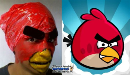 Nailed that – angry bird