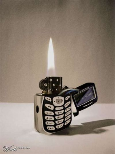 phone lighter