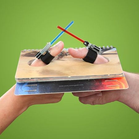 star wars finger sabers