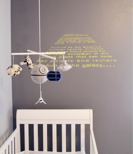 star wars baby mobile