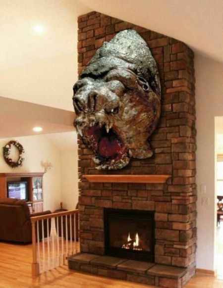 star wars taxidermy rancor head
