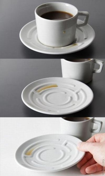 maze coffee cup