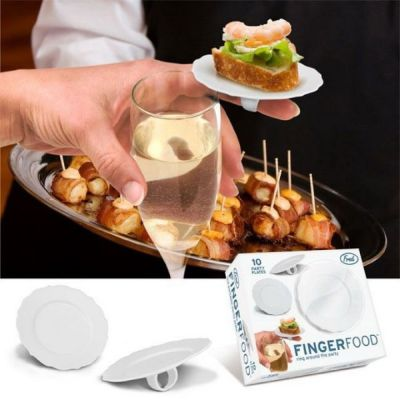 finger food plates