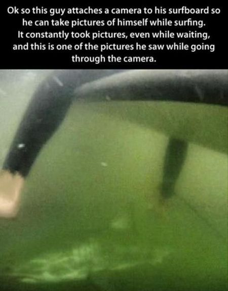 underwater surfboard picture