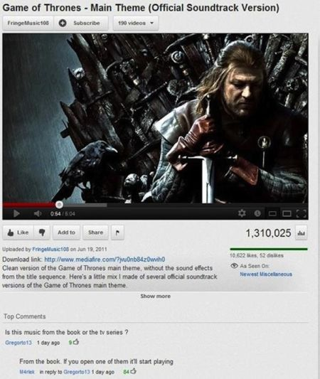 game of thrones yahoo funny