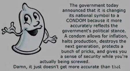condom national symbol of the government