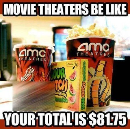 movie theatres be like meme