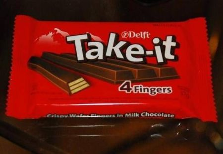 take-it four fingers chocolate