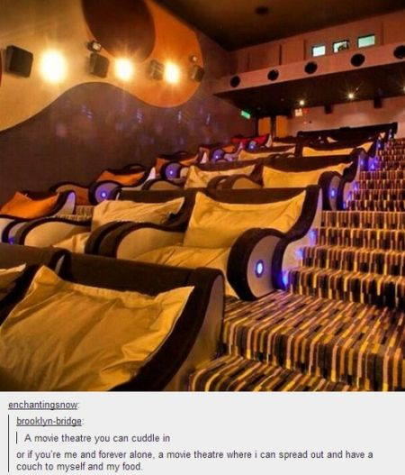 most comfy movie theatre