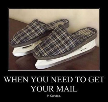 when you need to get your mail in Canada demotivational