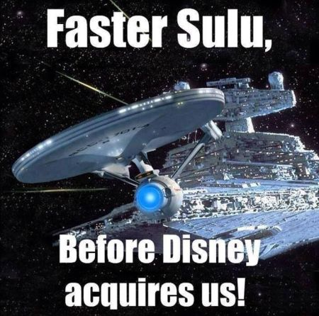 faster Sulu before Disney acquires us