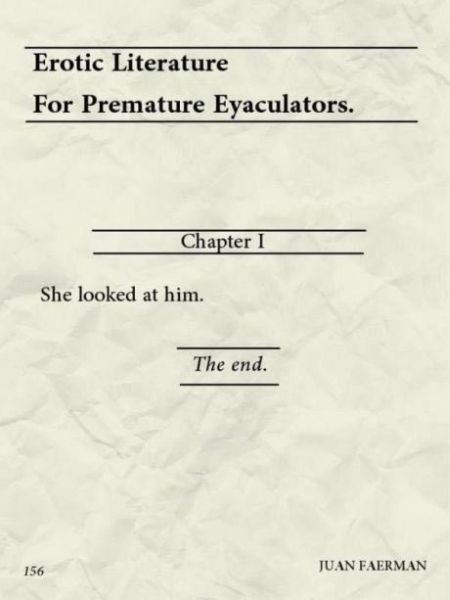 erotic literature for eyaculators