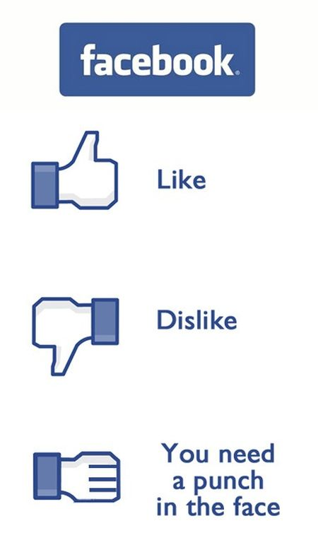 facebook buttons funny