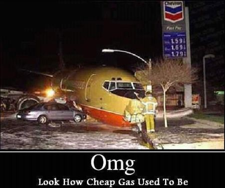 look how cheap gas use to be demotivational