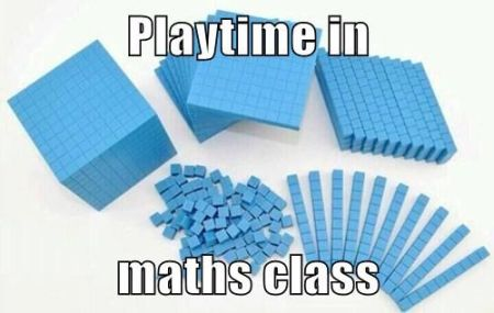 playtime in maths class meme