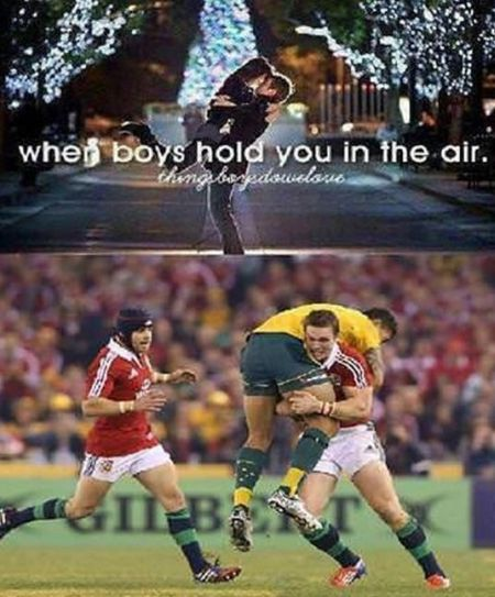 when boys hold you in the air funny