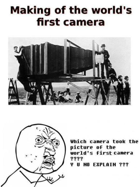 making of the world's first camera meme