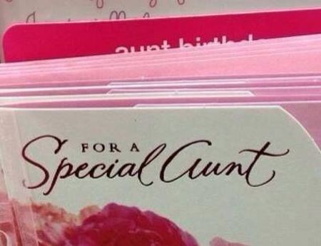 for a special aunt fail