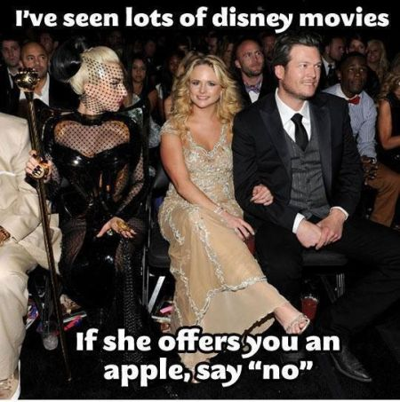 if she offers you an apple say no