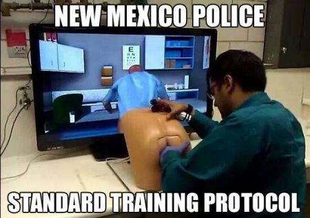 mexico police standard training protocol