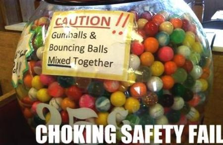 chocking safety fail