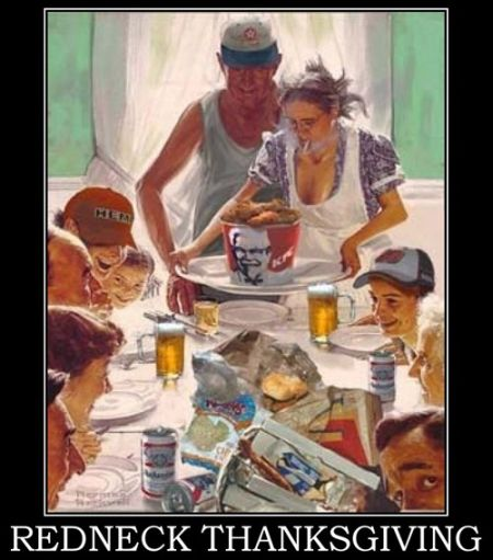 redneck thanksgiving funny