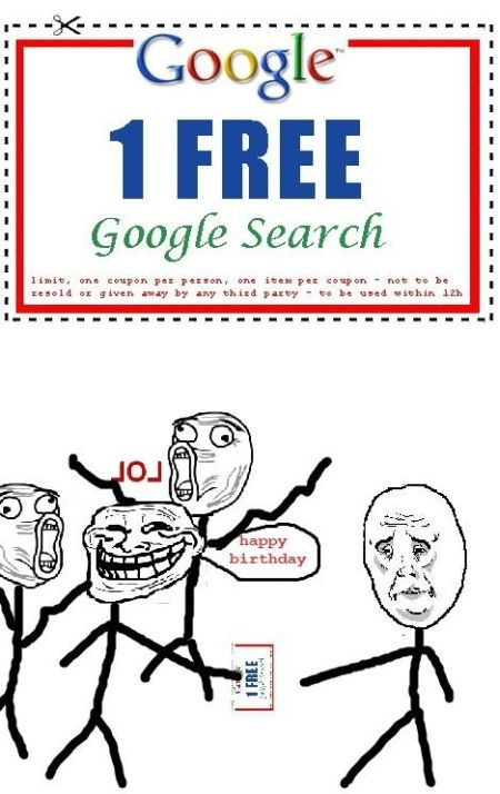 one free google search