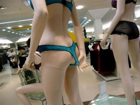 thong model funny