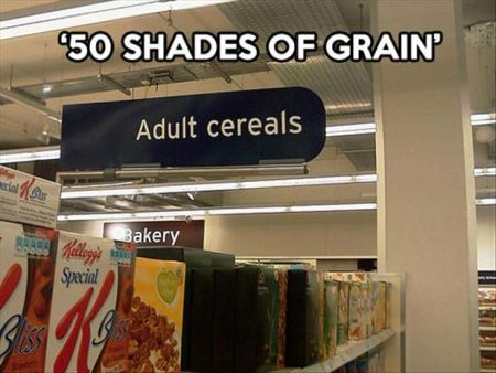 50 shades of grain – adult cereal
