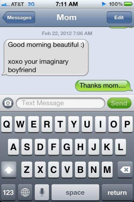 mom the imaginary boyfriend iphone funny