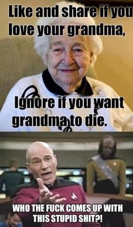 like and share if you love your grandma meme