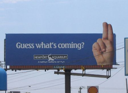 guess what's coming advertising fail