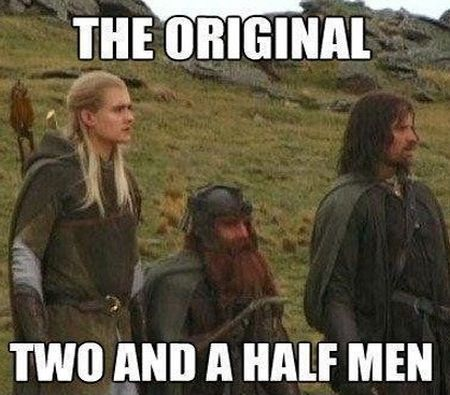 the original two and a half men meme