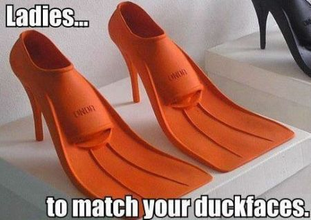 ladies to match your duckfaces