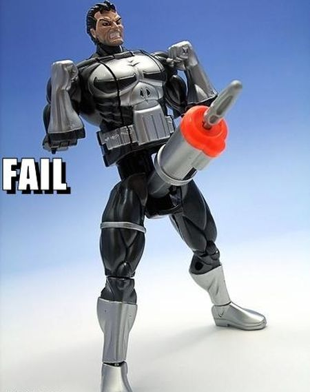 the punisher toy fail