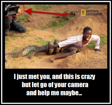 National Geographic cameraman fail