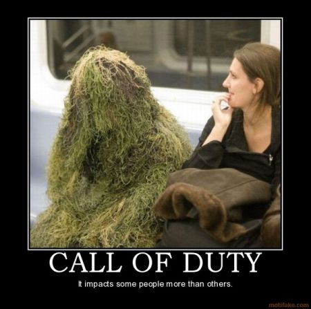 call of duty demotivational