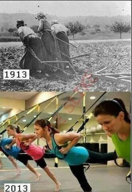 evolution of women funny